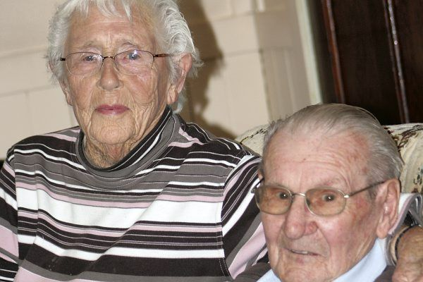 Couple's love story spans more than 70 years