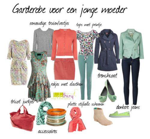 Garderobe voor een jonge moeder/wardrobe for a young mother. Klik op de foto voor meer details | www.lidathiry.nl |