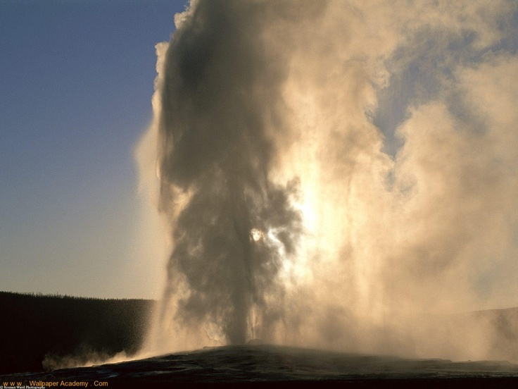 Old Faithful, Yellowstone, Wyoming: Faith Geyser, Buckets Lists, Favorite Places, Places I D, Desktop Wallpapers, Travel, Memories, Old Faith, Yellowstone National Parks