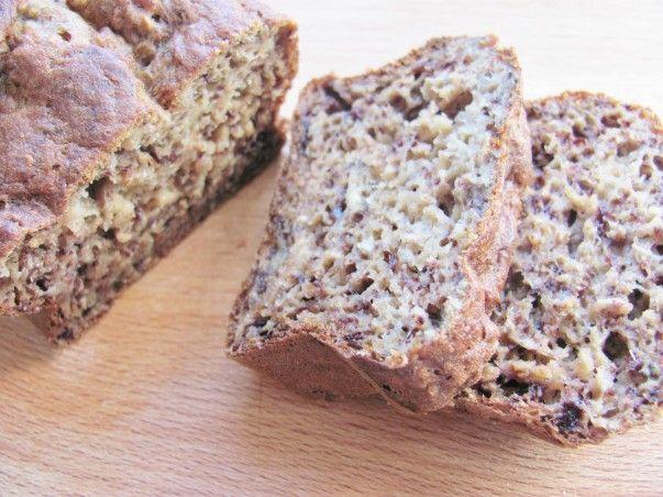 Gezond recept: luchtige bananen cake/brood