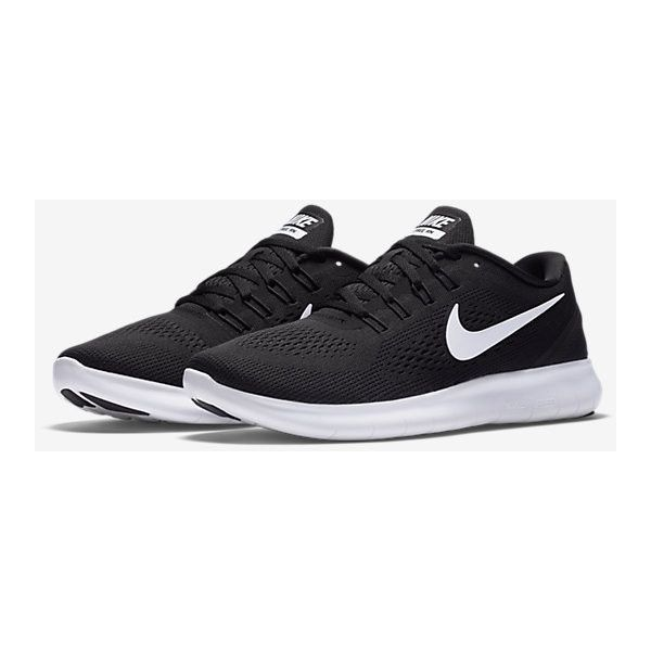 Nike Free RN Women's Running Shoe. Nike.com ($100) ❤ liked on Polyvore featuring shoes, athletic shoes, nike shoes, nike, running shoes, nike footwear and nike athletic shoes