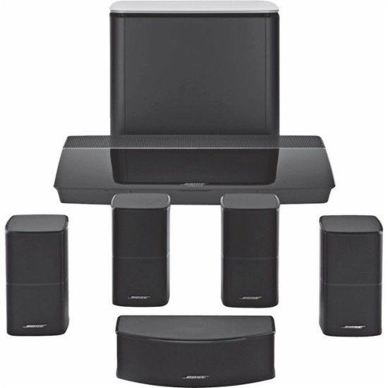 Bose® - Lifestyle® 600 home entertainment system - Black - Front Zoom