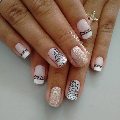 223 best uas decoradas images on Pinterest Cute nails Nail art
