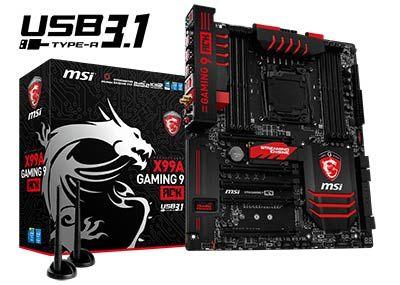 MSI dévoile un arsenal de nouveaux produits gaming - Le meilleur de l'innovation avec des cartes mères MSI USB 3.1, des PC tout-en-un dotés d'écrans 3K et 4K et des notebooks surpuissants équipés de cartes graphiques en SLI comme le GT80 et le GS30.