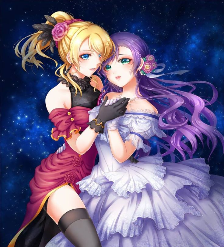 Love live! EliNozo ( Eli Ayase x Nozomi Toujo)