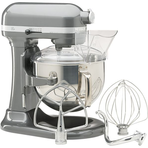 Pro600MixerPearlMetal can be found on Crate and Barrel's website. Imagine what I can do with this!!!!