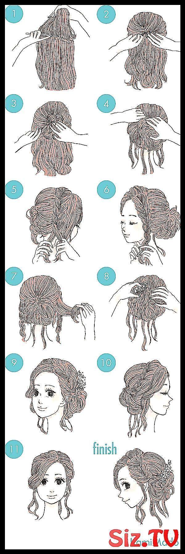 hair hairstyle updo formal elegant updo Hair Brai #Braids #elegant #elegant_Prom_Hair #Formal #Hair
