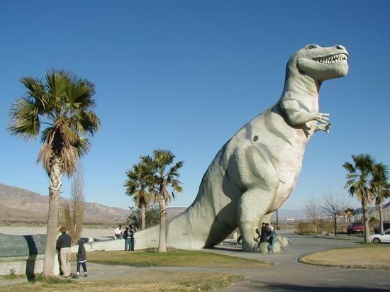 Dinosaur Americana - Cabazon, California.