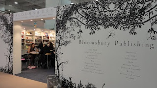 The Bloomsbury Publishing stand at LBF. Would love to go to the LBF at least once in my life <3