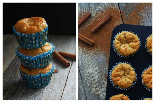 Lækre og sunde gulerod- og æblemuffins :) Se opskriften her: http://samanthafotheringham.dk/sunde-gulerod-og-aeblemuffins/ #opskrift #muffins #bagværk #madblog #sund #foood