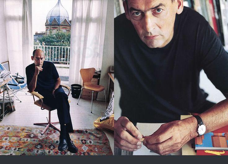 I always appreciate a good creepy portrait of Rem Koolhaas