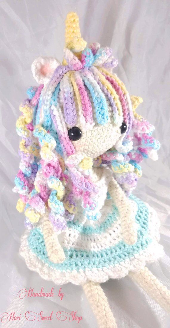 Amigurumi Felicity the Unicorn Girl - Crochet Pattern (With images ... | 1100x570