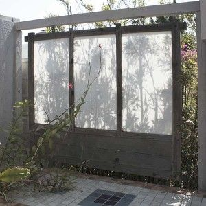1000 images about outdoor screening ideas on pinterest for Outdoor privacy screen white