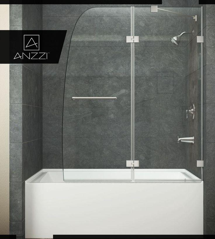 8 best Bathtub Doors images on Pinterest | Bathtub doors, Brushed ...