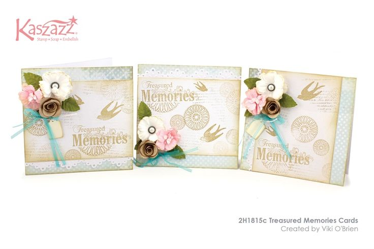 2H1815c Treasured Memories Cards