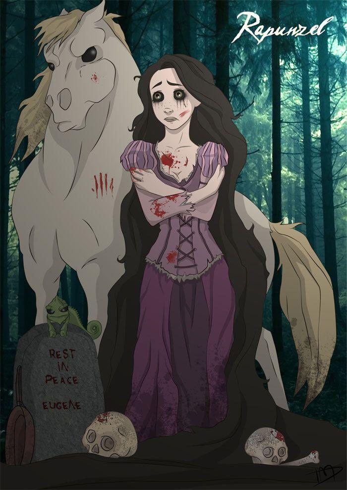 Princesas Disney do mal | Just Lia