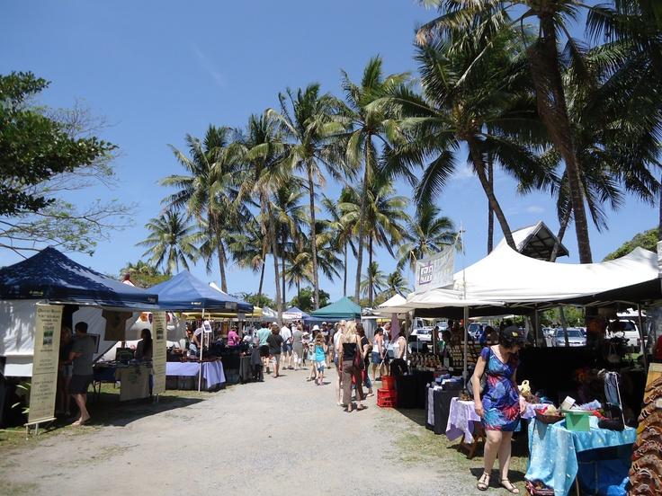 Sunday is Market day..Port Douglas #sundaymarketsportdouglas