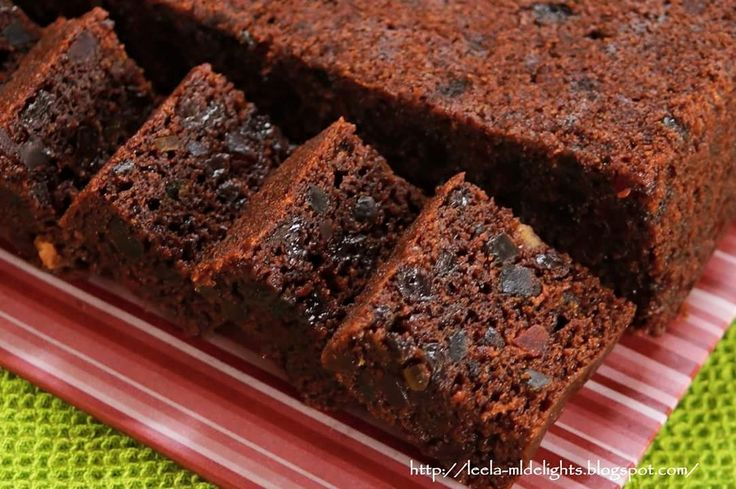 Baking's Corner AKA BC: Steam Fruit cake