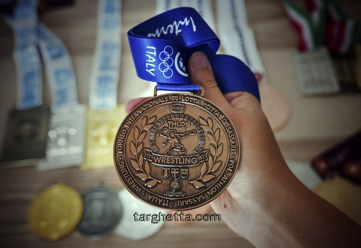 Medaglie sportive personalizzate per premiazioni.