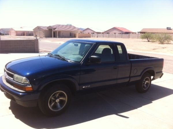 2003 Chevy S10 Ext. Cab - $5000
