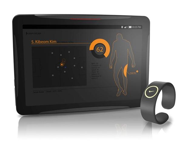 Designer cria conceito de tablet da Nike para auxiliar treinadores