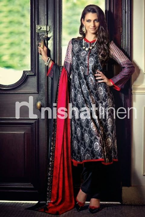 Nishat Winter Collection 2013 | Its All About Style: Nishat Linen - Gulkari Winter Collection 2013-14