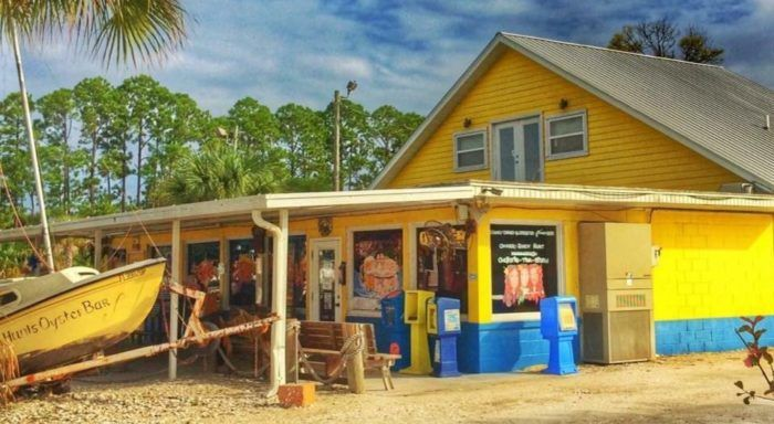 Don T Let The Outside Fool You This Seafood Restaurant In Florida Is A True Hidden Gem Panama City Beach Florida Restaurants Panama City Beach Fl Florida Restaurants