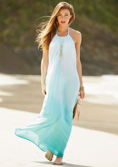 Lovely Have A Walk On The Beach Dress Vestidos Moda