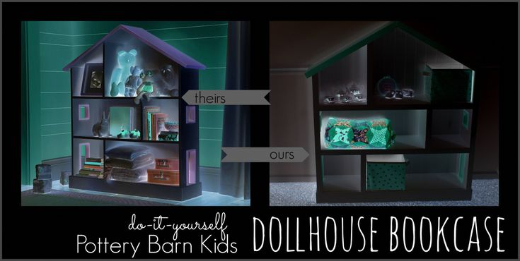 Pottery Barn Kids Dollhouse Bookcase - Best Way to Paint Furniture Check more at http://fiveinchfloppy.com/pottery-barn-kids-dollhouse-bookcase/