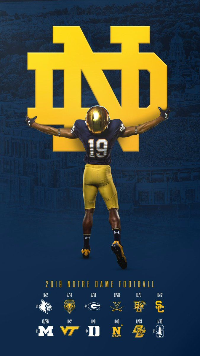 Notre Dame Notre Dame Football Fighting Irish Football Notre Dame