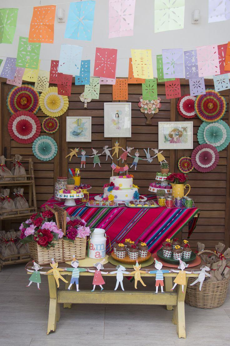 25 melhores ideias de decora es de festa mexicana no for Cuartos decorados de frida kahlo
