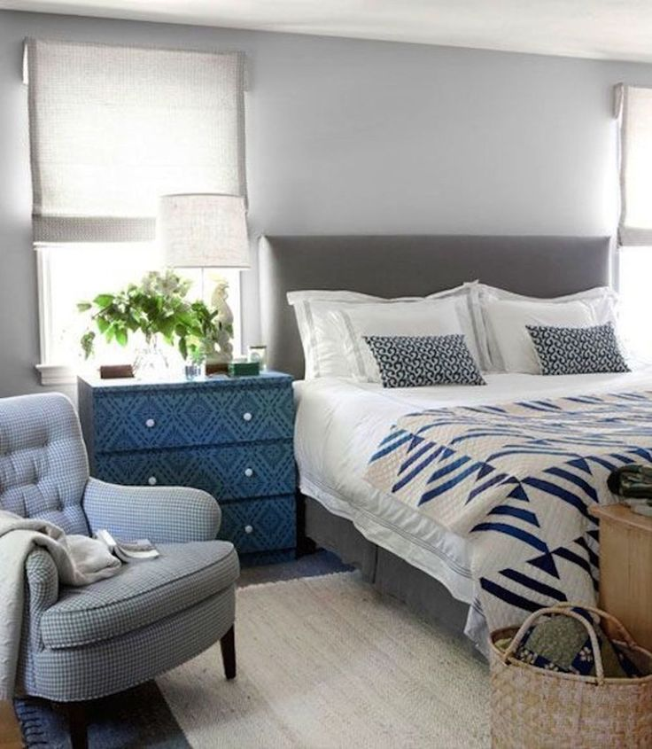 best 25 blue gray bedroom ideas on pinterest blue gray paint guest bathroom colors and kitchen wall colors - Blue Grey Bedroom Ideas