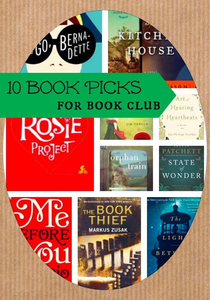 10 More Great Books for Book Club in 2014