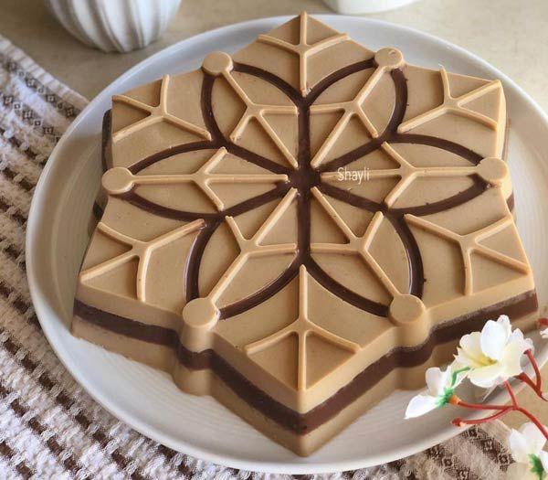 کرم کاپوچینو پنیری سه لایه دسر خوشمزه و مجلسی مجله تصویر زندگی Recipe Yummy Food Dessert Cheesecake Recipes Food Recipies