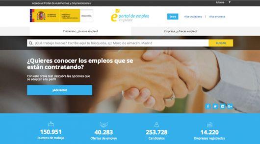 Empléate: el portal de empleo del Servicio Público de Empleo Estatal