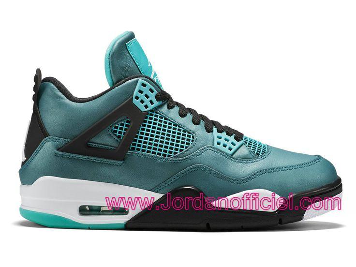 Air Jordan 4/IV Retro Chaussures Officiel Pas Cher Pour Homme Teal 705331-330
