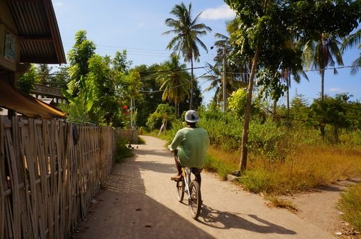 Two wheels: Bicycle is the most common form of transportation, but, unlike in Gili Trawangan, there is no bike rental in...