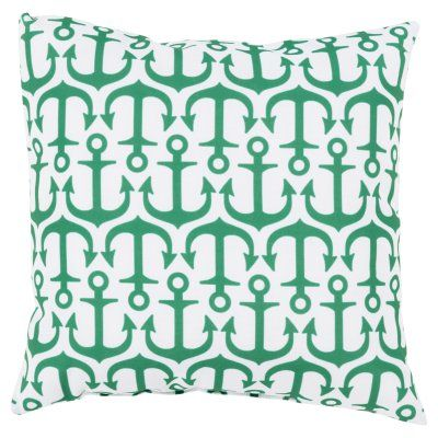 Surya Alluring Anchor Indoor/Outdoor Pillow   RG112 2626