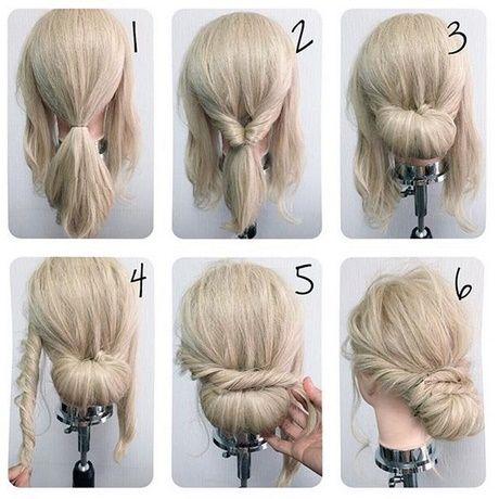 Einfach schöne Hochsteckfrisuren für lange Haare