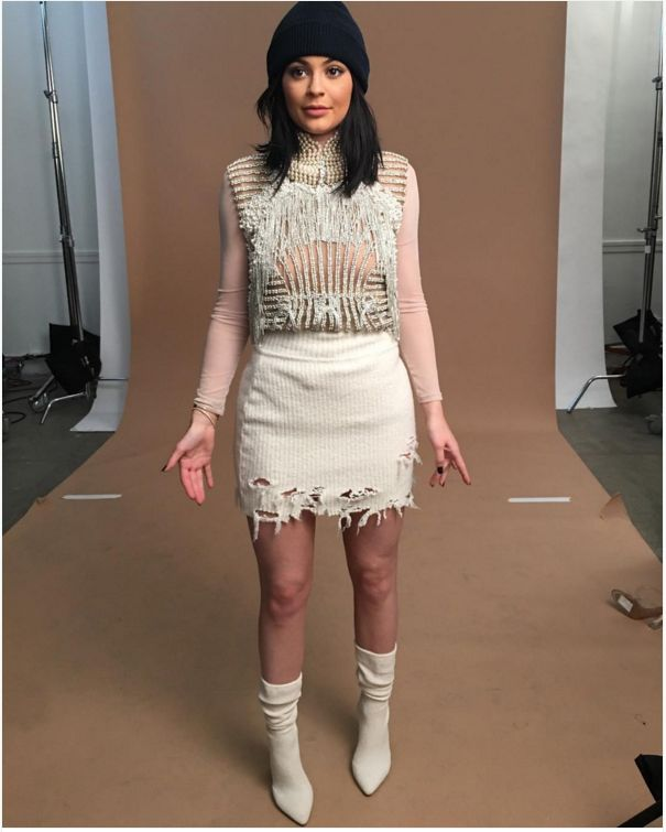 Kylie Jenner - Yeezy Season 3 Show