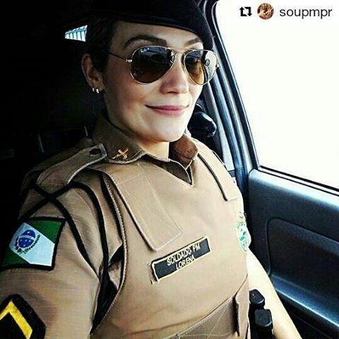 WEBSTA @ naiara_tadioto - #Repost @soupmpr with @repostapp・・・Nossa guerreira @lorenacosta1203. 📷 Envie sua foto via direct 🔝👮🚨 #policial #pmpr #policiamilitar #farda #policia_pmpr #guerreiro #parana #soldado #likes #batalhao #soupmpr #policialrodoviario #rodoviario #pmrodoviario #viatura #moto #coturno #arma #camburao #policialmilitar #padrao #gotran #blitz #militar #pm #homemdefarda #mulherdefarda / MULHERES FARDADAS 😍