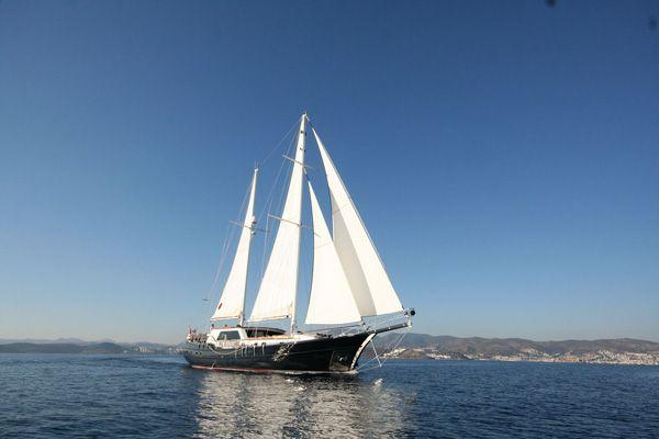 Didi gulet 4 cabin luxury yacht charter in Turkey. Exquisite.