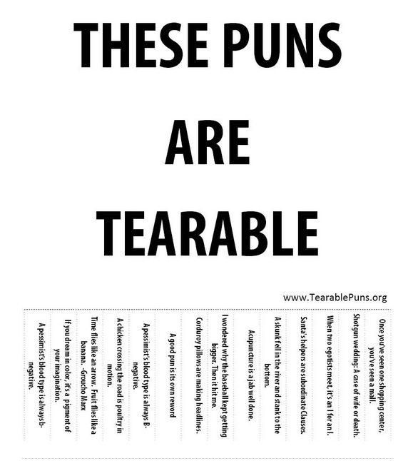 but do this with christmas puns!