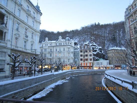 Karlovy Vary, Czechoslovakia, River Tepla