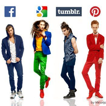 Pin for Later: If Social Networks Were Actually Really Hot Guys