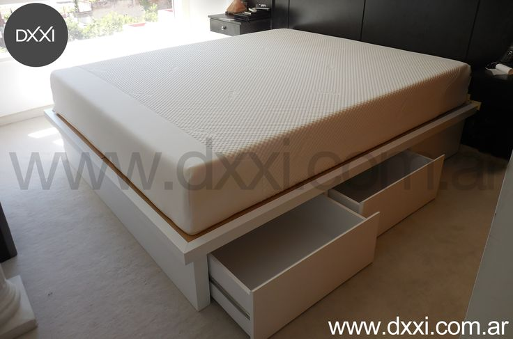 34 best bed with drawers cama con cajones images on - Sofas con cajones ...