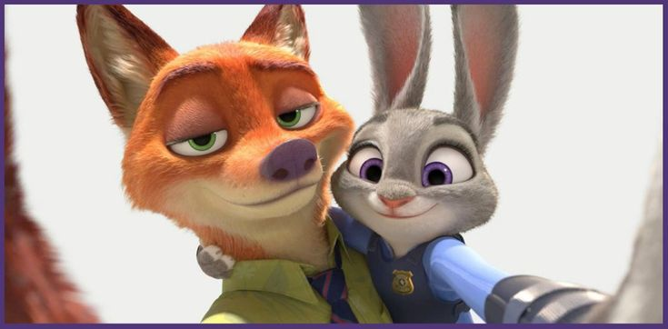 Photo of Nick and Judy selfie for fans of Disney's Zootopia. Zootopia (2016)