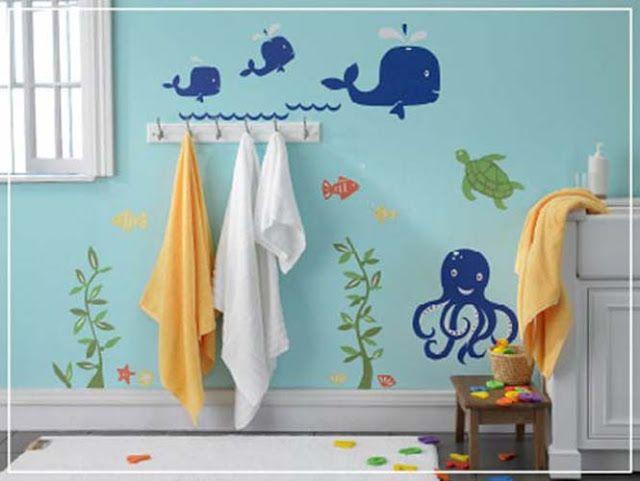 22 ιδέες διακόσμησης για μπάνια που θα λάτρευε κάθε παιδί!