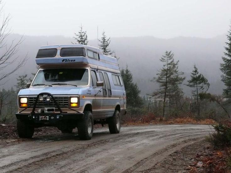 Boomer The Quadravan 4x4 Camper Expedition Portal Van