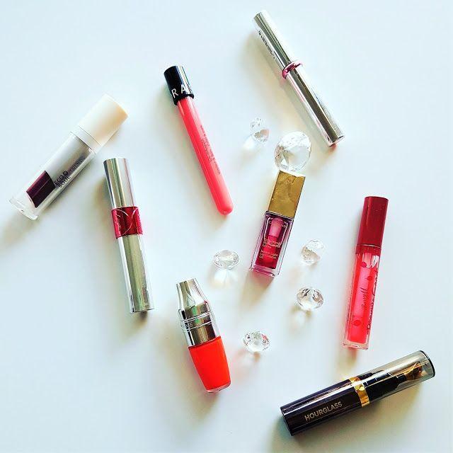 Lip oils - my new obsession